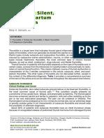 Subacute, Silent, And Postpartum Thyroiditis 2012