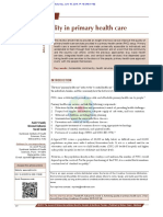 Achieving quality in Primary Health Care - NABH Article.pdf