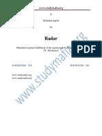 Mech Radar Report