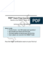 EdWel PMP Exam Preparation Course eBook Excerpt