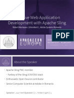 Effective Web Application Development With Apache Sling 0