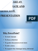 How to Prepare Ppt