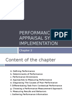 2. Performance Appraisal System Implementation 5