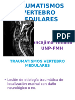 TRAUMATISMOS-VERTEBRO-MEDULARES
