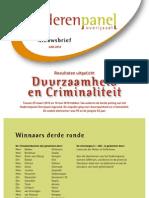 Ouderenpanel Overijssel - nieuwsbrief juni 2010