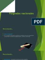 Posgrados Nacionales Np