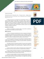 CURSO_ Protección Civil y Administración de Desastres_ Gestión Del Riesgo