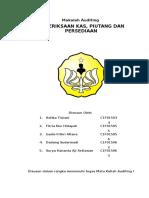 Auditing Kelompok 10_kas Piutang Persediaan