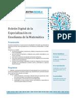 1-Presentación Del Boletín Digital