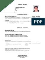 CV Alessandro Calenzani