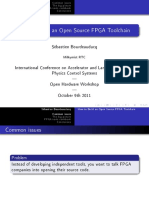 How to Build an Open Source FPGA Toolchain