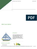Milk Carton Sailboat