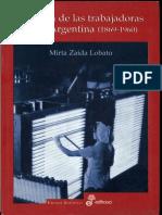 Lobato 2007 Historia de Las Trabajadoras en La Argentina Cap 1