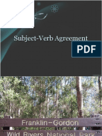 Subject -Verb Agreement Ppt