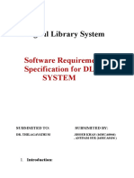 A SRS Digital Library System.docx