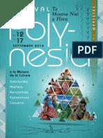 Programme Festival Polynesia
