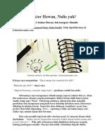Cara Mudah Menulis Untuk Dokter Hewan