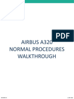 A320 Normal Procedures Scanflow