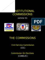 18 PGC (Constitutional Commissions)
