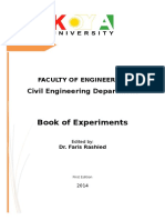 Civil Dept. Lab Syllabus Book