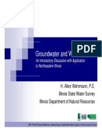 Groundwater & Wells Not the Book