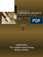 The Capital Asset Pricing Model Capm75