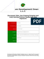 PR-1073 - Gas Freeing, Purging and Leak Testing of Process Equipment (Excluding Tanks).doc