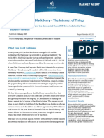 The Other Side of BlackBerry – The Internet of Things