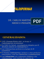 3B. Cefalosporina (Dr- Martinez)