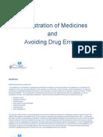 Administering Medicine in a Residenatial