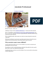 How to Pass Autodesk Professional Certification