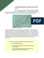 BOT 1.1 Prokryotes and Eukaryotes (HW)