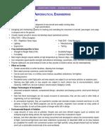 Study Notes - Aeronautical Engineering