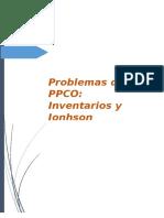 Problemas de Inventarios PCP