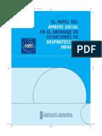 Manual del papel del ámbito social en el abordaje de situaciones de desprotección infantil