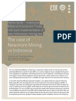 Newmont Indonesia Case 4