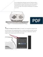 How to Trace an Image Using Photoshop