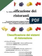 classificazione ristoranti