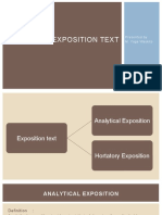 Exposition Text