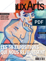 Beaux Arts Septembre 2015
