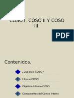 Coso i, Coso II y Coso III