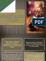 La Administración Pública ( Clase 1)