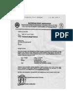 Dody Firmanda 2010 - Akreditasi Pusat Pendidikan Dokter Spesialis PP PERKI