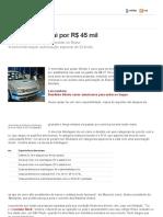 BLINDAGEM - G1 _ Carros - NOTÍCIAS - Blindagem do carro sai por R$ 45 mil