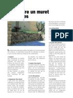 Construire Un Muret en Pierres