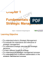Chapter 1 - Fundamentals of Strategic Management - Copy