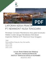 Laporan Kerja Praktik PT Newmont Nusa Tenggara