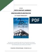 20th Century Harmony by Persichetti