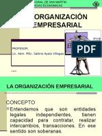 II. La Organizacion Empresarial