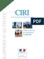 Rapport Ciri